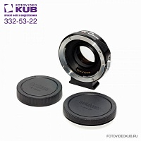 Canon EF Lens to Sony NEX Speed Booster