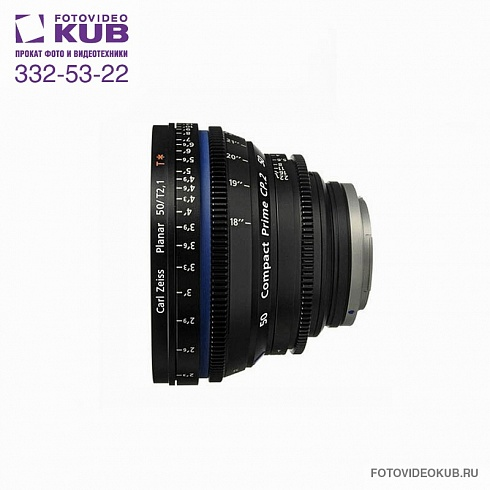 Carl Zeiss CP.2 50mm / T2.1